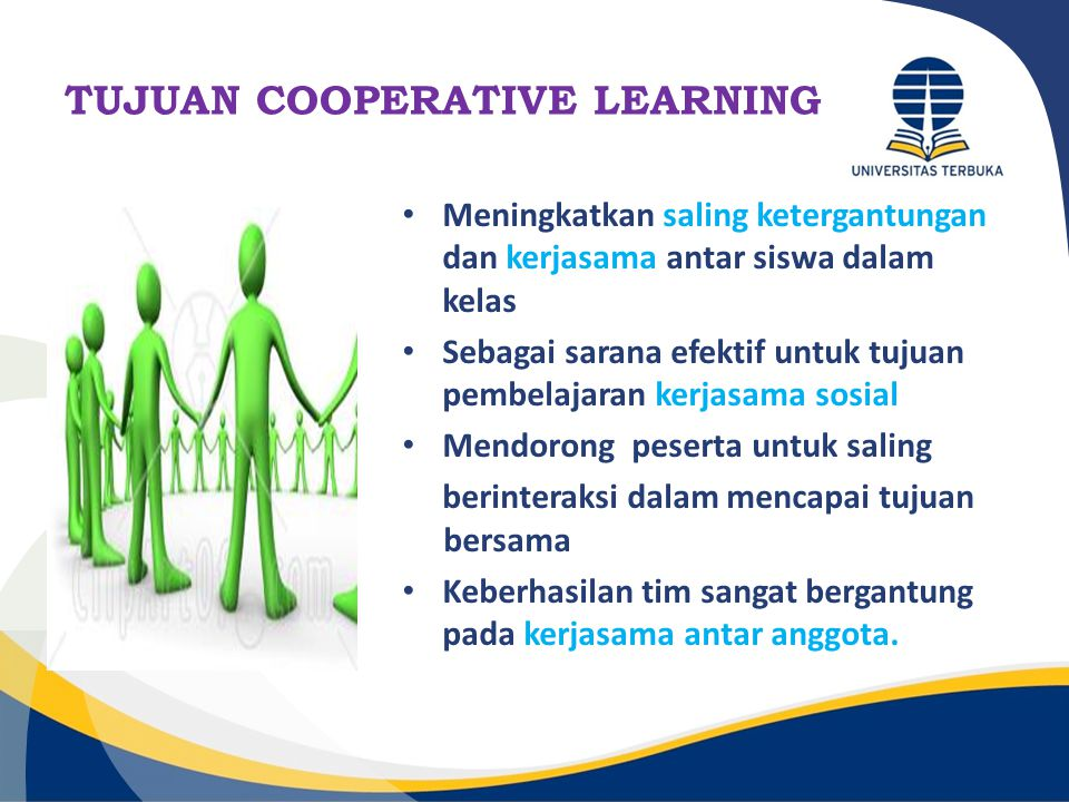 TUJUAN COOPERATIVE LEARNING