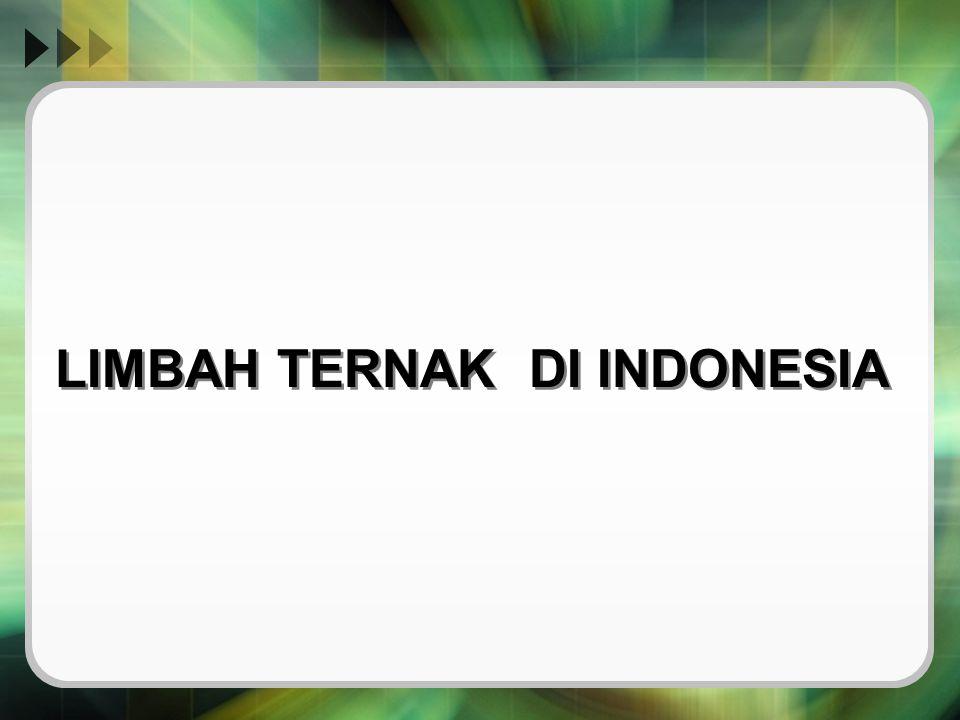 LIMBAH TERNAK DI INDONESIA