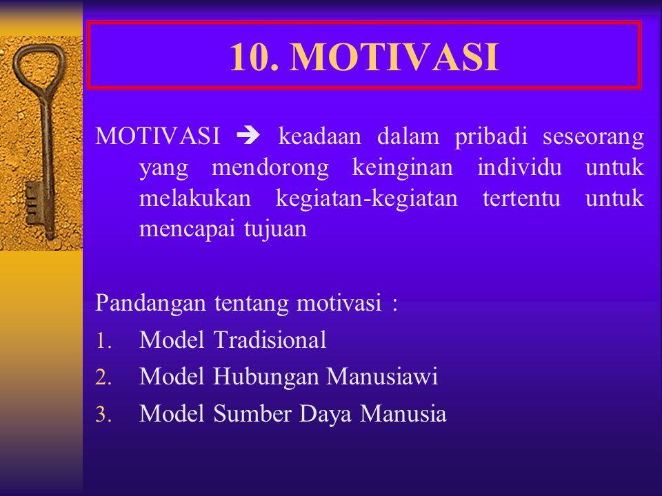 10. MOTIVASI