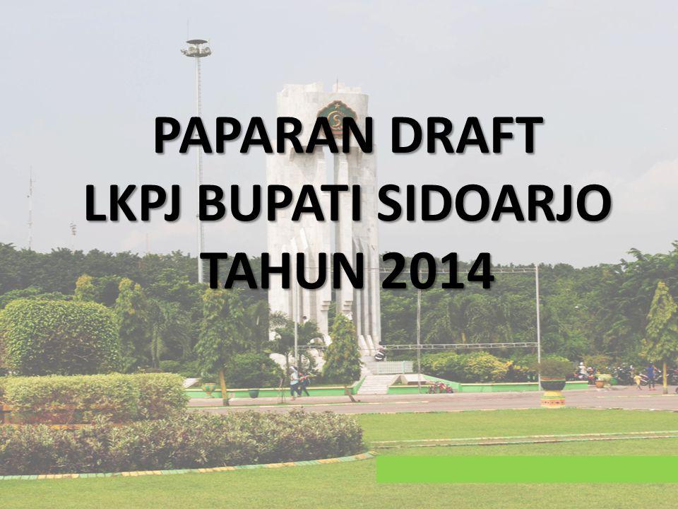 PAPARAN DRAFT LKPJ BUPATI SIDOARJO TAHUN 2014