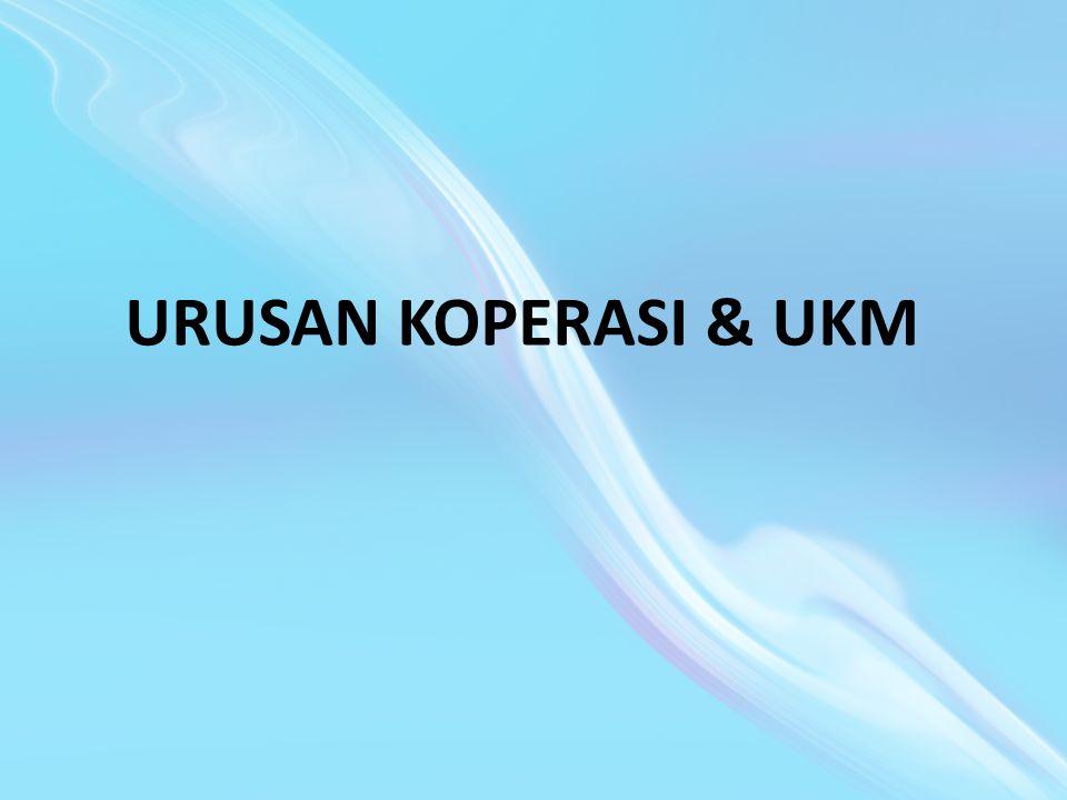 URUSAN KOPERASI & UKM