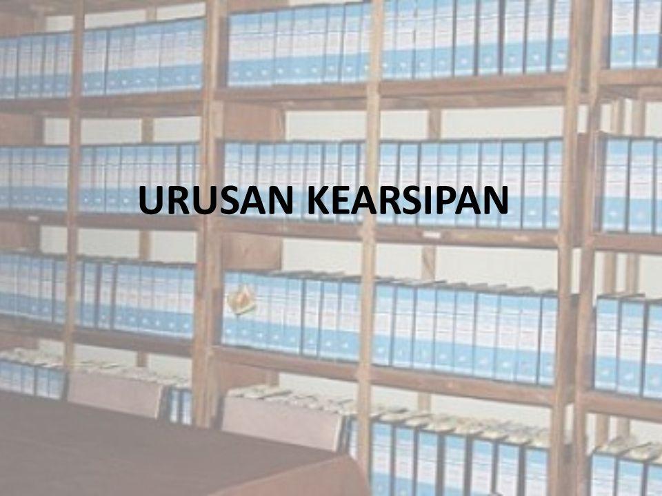 URUSAN KEARSIPAN