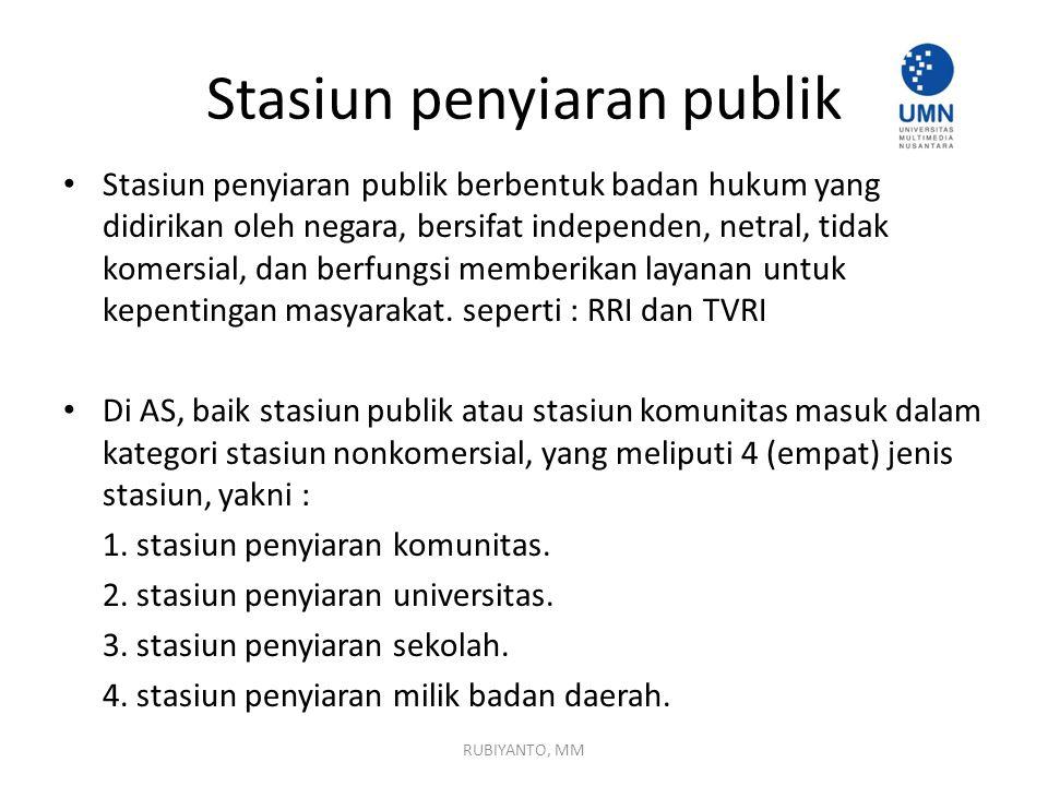Stasiun penyiaran publik