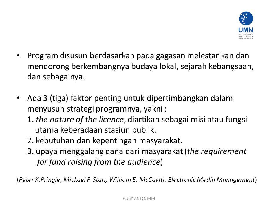 1. the nature of the licence, diartikan sebagai misi atau fungsi
