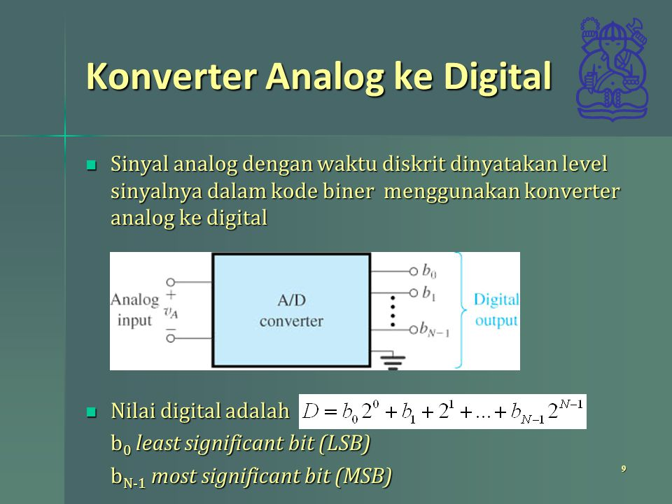 Konverter Analog ke Digital