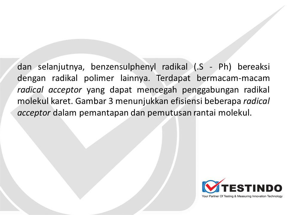 dan selanjutnya, benzensulphenyl radikal (