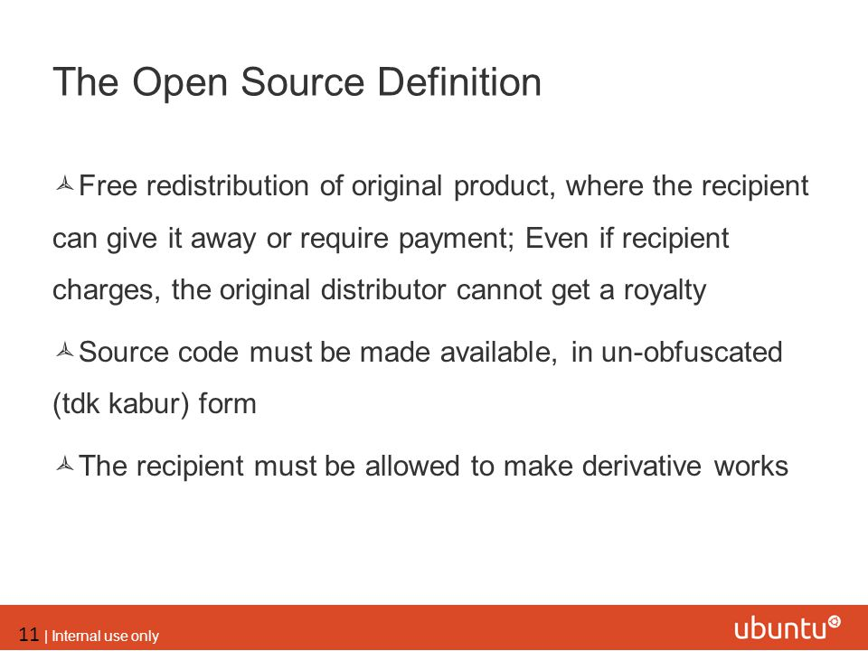 The Open Source Definition