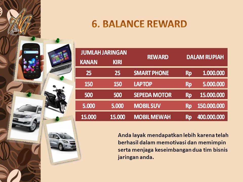 6. BALANCE REWARD