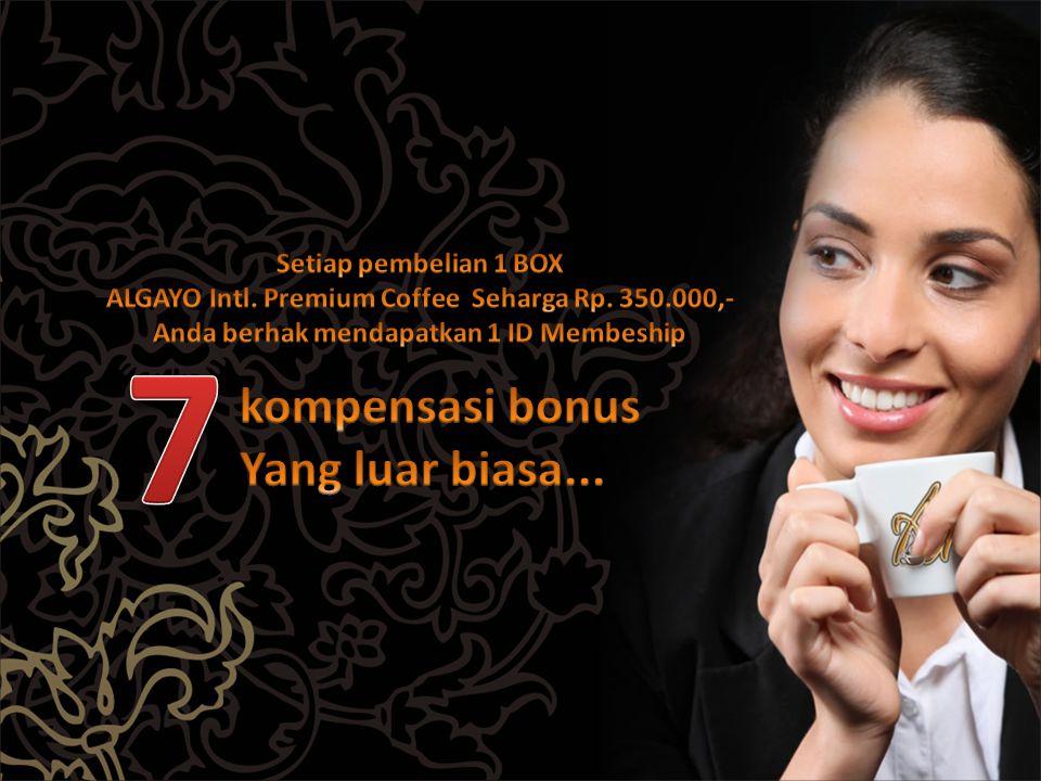 7 kompensasi bonus Yang luar biasa... Setiap pembelian 1 BOX