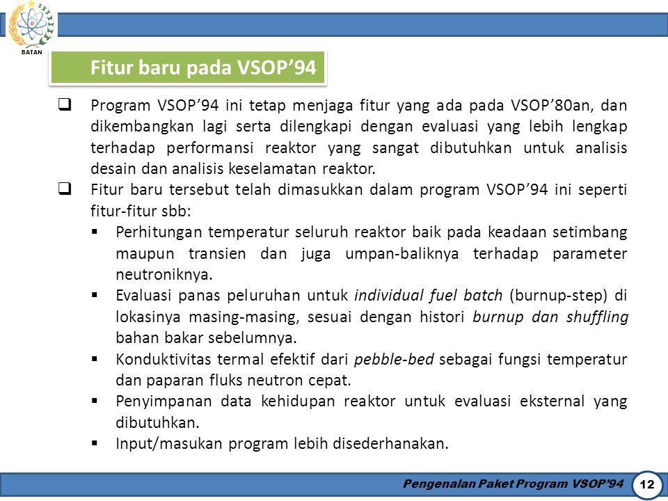 Fitur baru pada VSOP'94