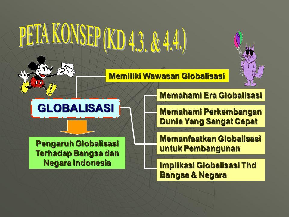 Pengaruh Globalisasi Terhadap Bangsa dan Negara Indonesia