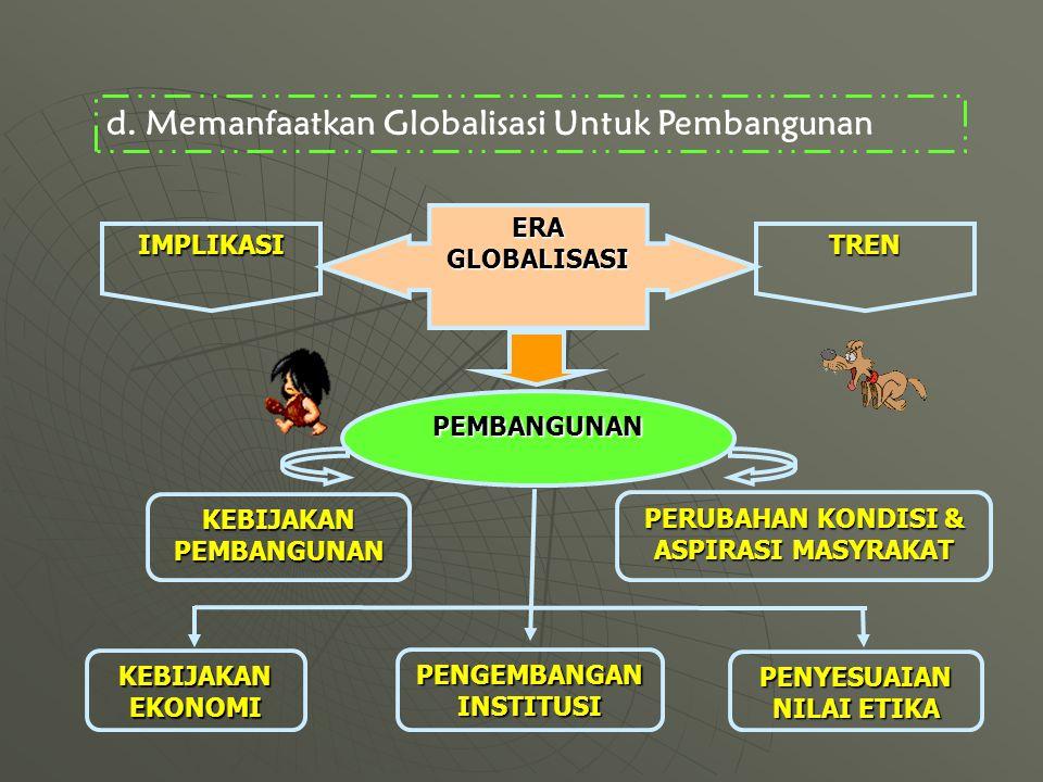 Memanfaatkan Globalisasi Untuk Pembangunan