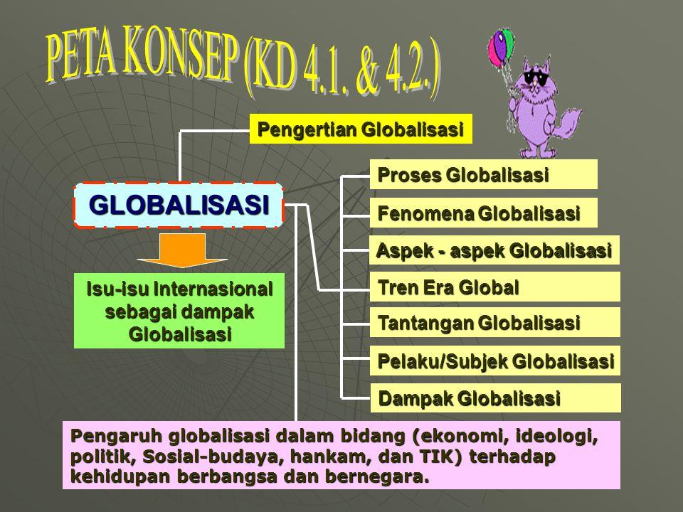 Isu-isu Internasional sebagai dampak Globalisasi