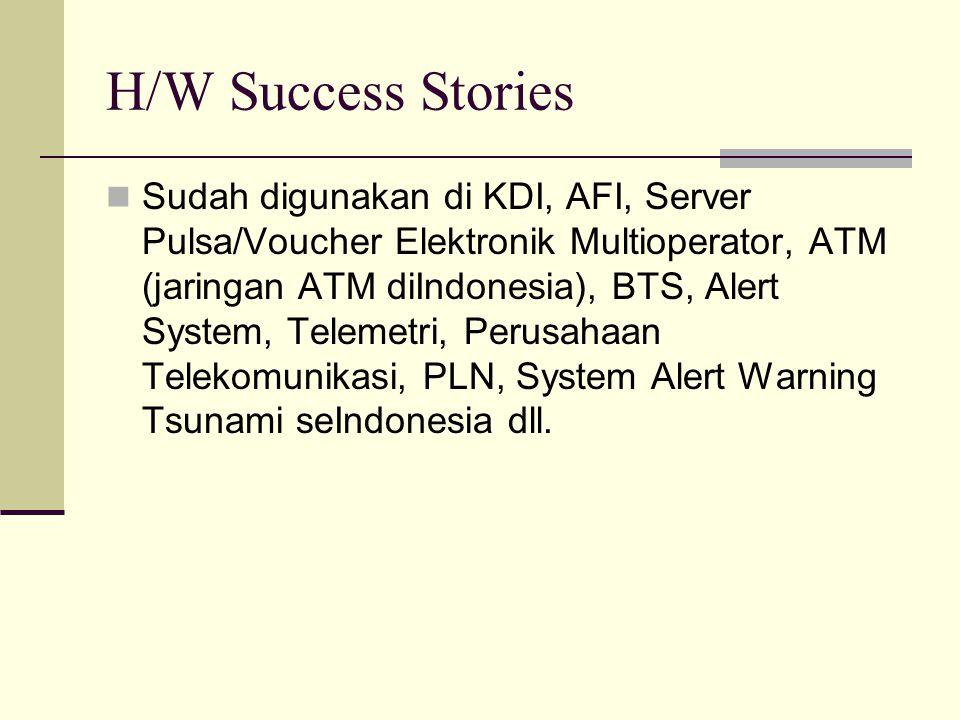 H/W Success Stories