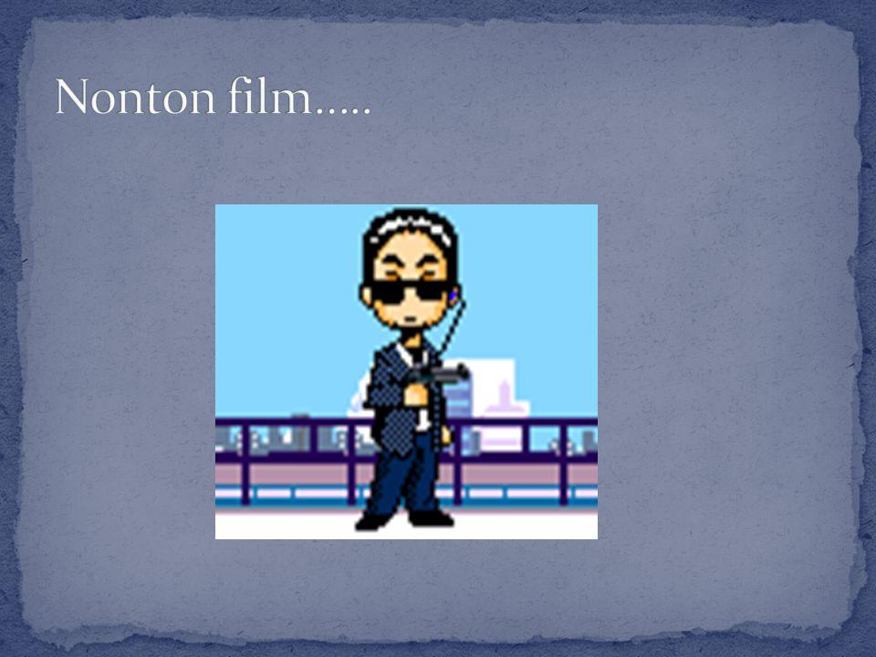 Nonton film…..