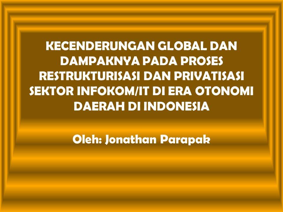 Oleh: Jonathan Parapak