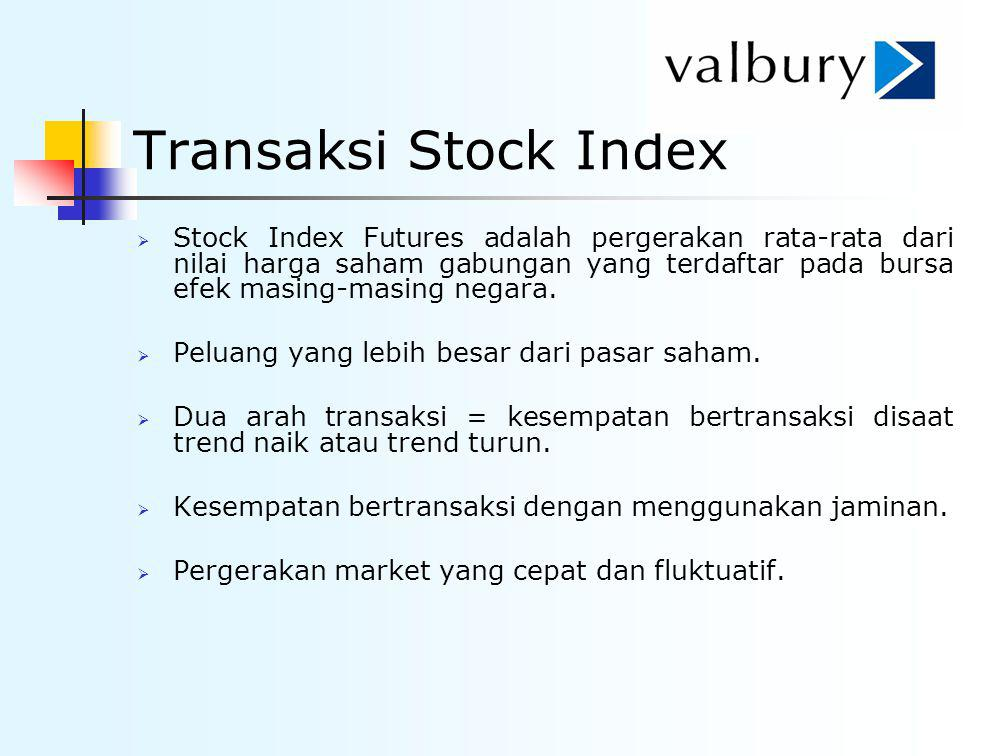 Transaksi Stock Index