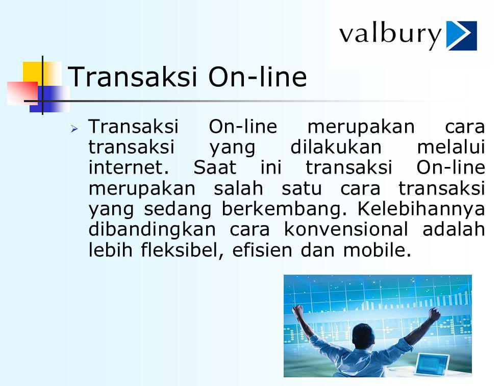 Transaksi On-line