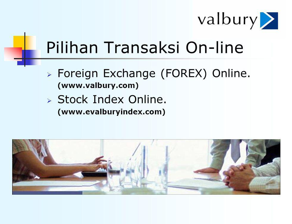 Pilihan Transaksi On-line