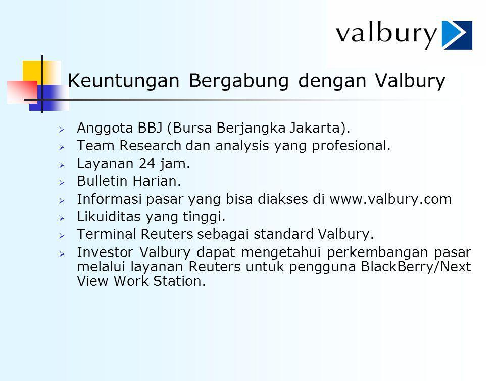 Keuntungan Bergabung dengan Valbury