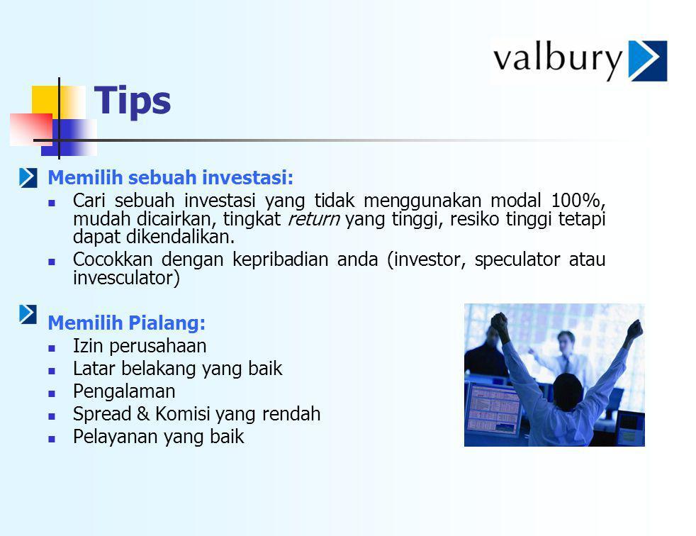 Tips Memilih sebuah investasi: