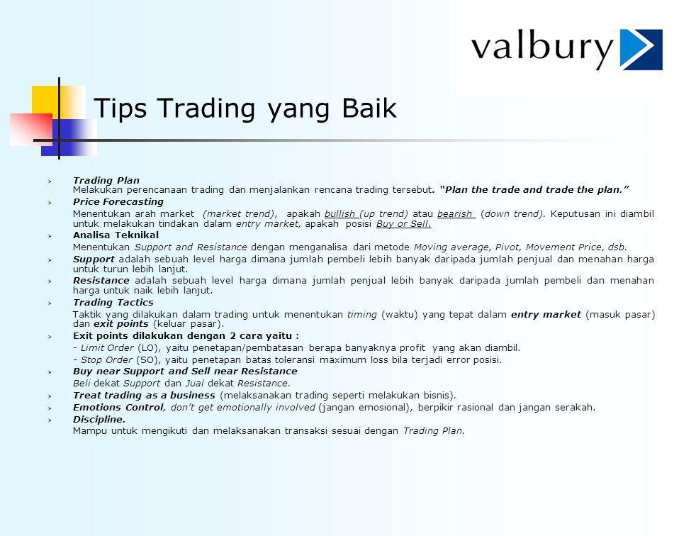 Tips Trading yang Baik