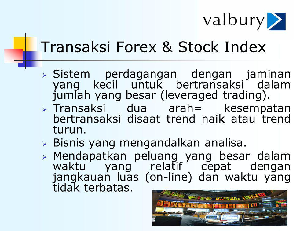 Transaksi Forex & Stock Index