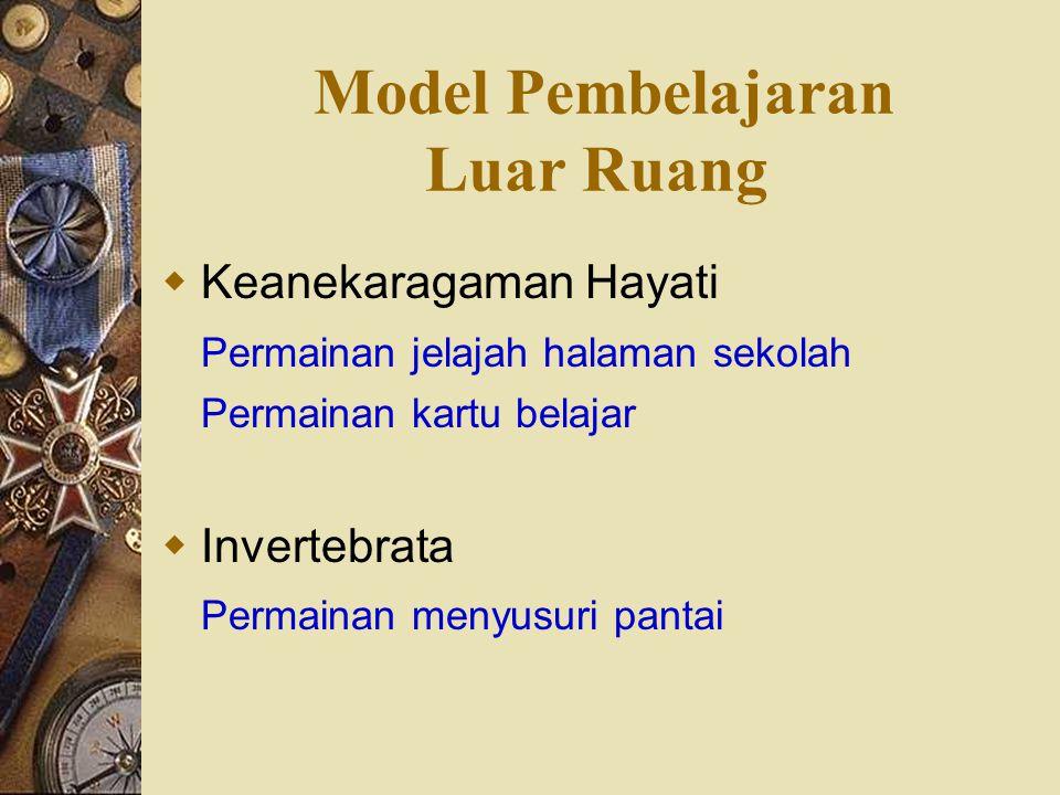 Model Pembelajaran Luar Ruang