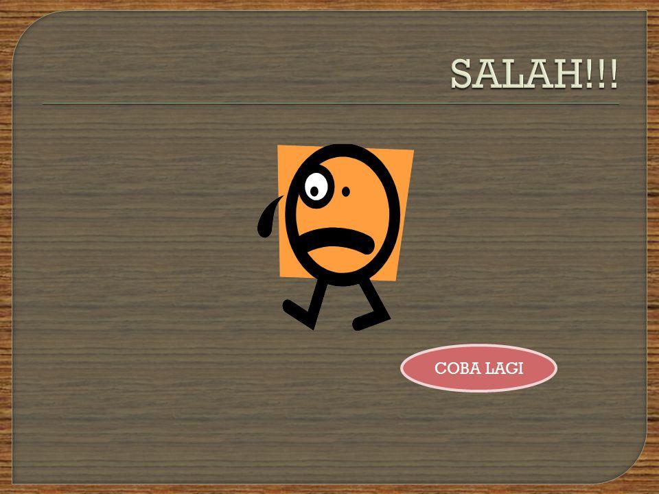 SALAH!!! COBA LAGI