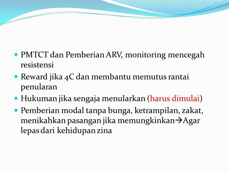 PMTCT dan Pemberian ARV, monitoring mencegah resistensi