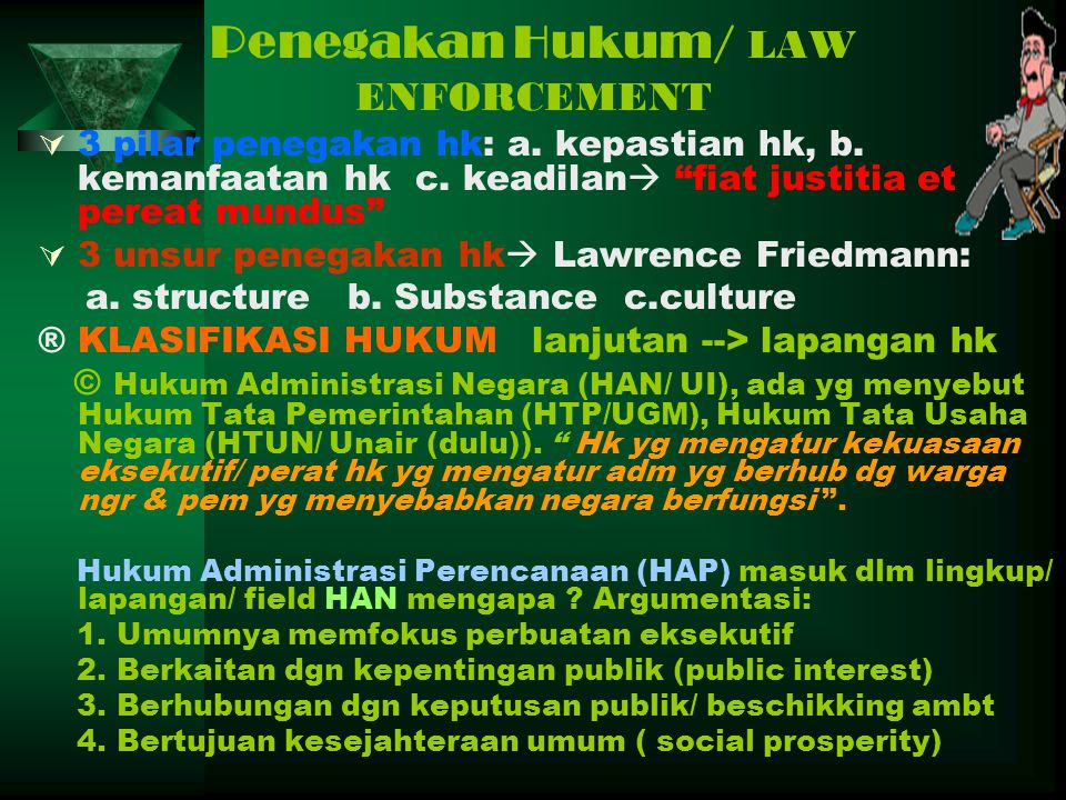 Penegakan Hukum/ LAW ENFORCEMENT
