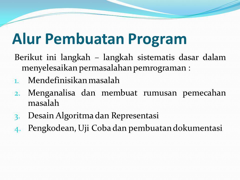 Alur Pembuatan Program