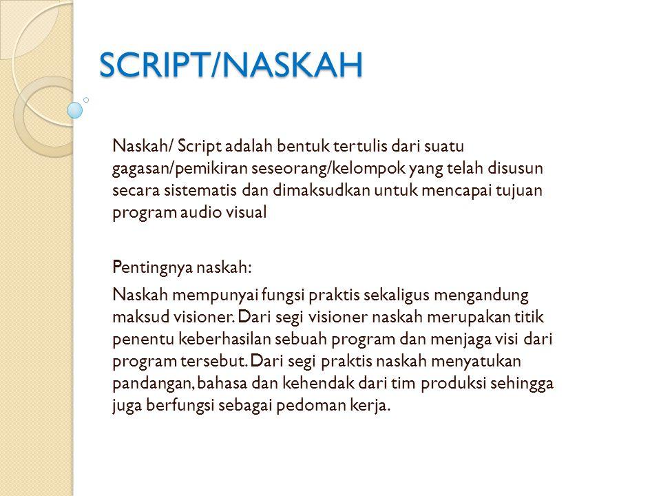 SCRIPT/NASKAH