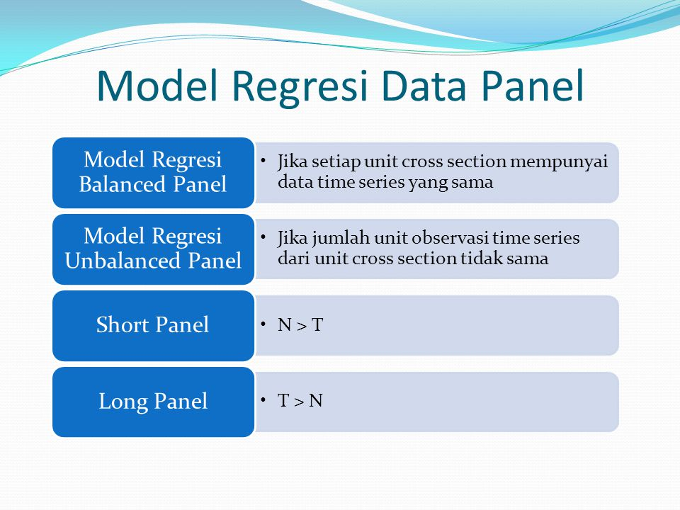 Model Regresi Data Panel