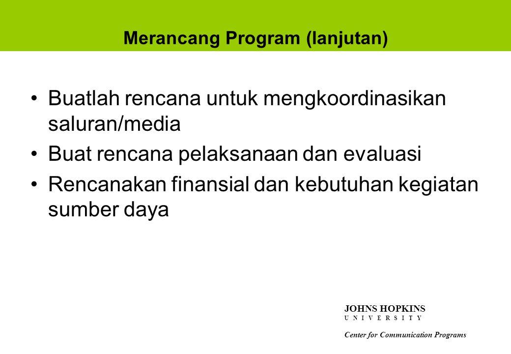 Merancang Program (lanjutan)