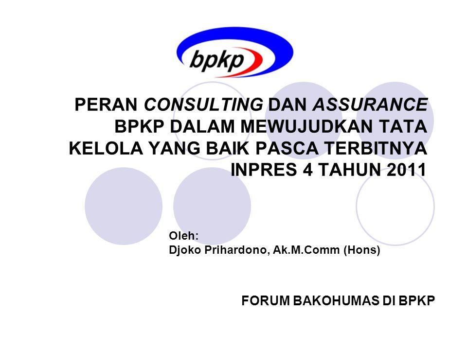 FORUM BAKOHUMAS DI BPKP
