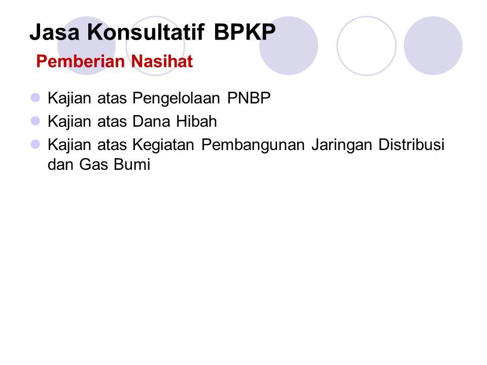 Jasa Konsultatif BPKP Pemberian Nasihat