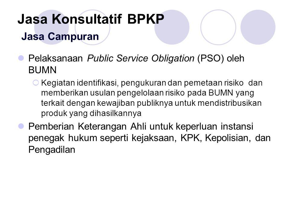Jasa Konsultatif BPKP Jasa Campuran