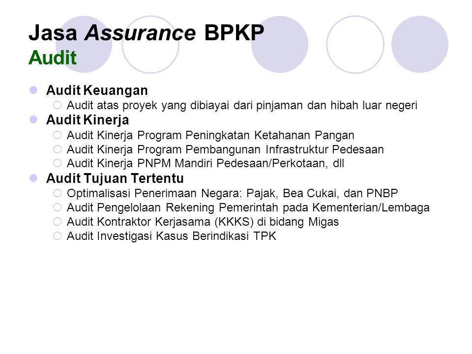 Jasa Assurance BPKP Audit