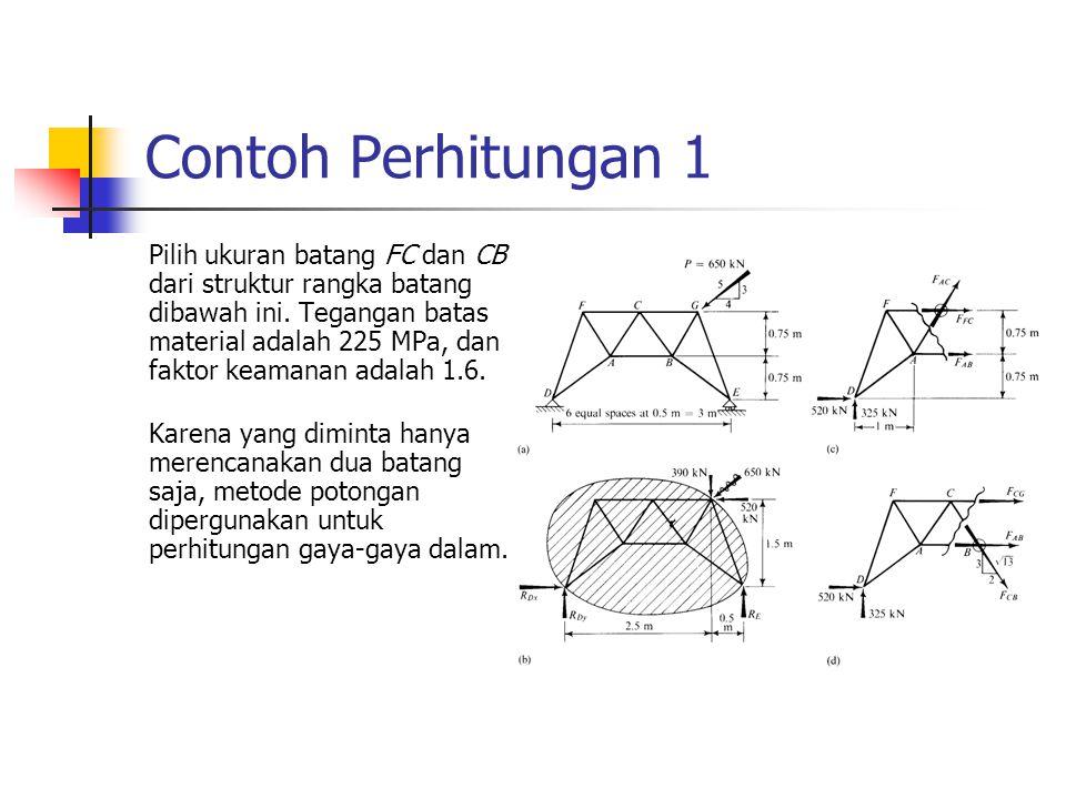 Contoh Perhitungan 1