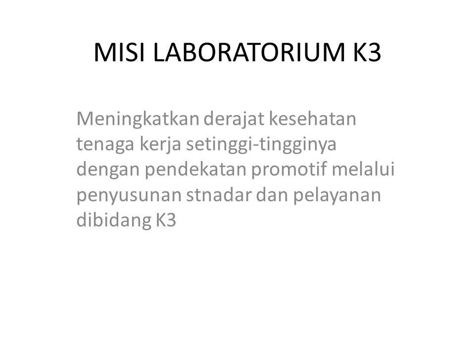 MISI LABORATORIUM K3