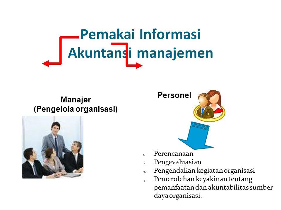 Pemakai Informasi Akuntansi manajemen