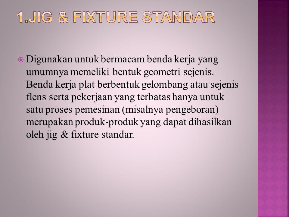 1.Jig & Fixture Standar