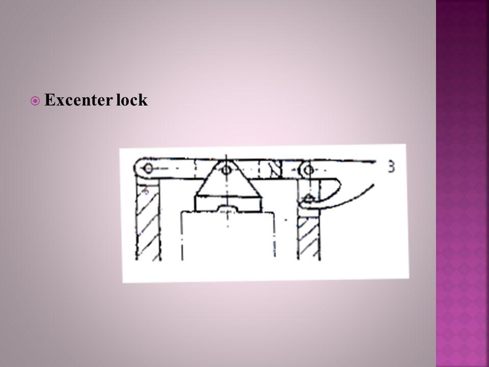 Excenter lock