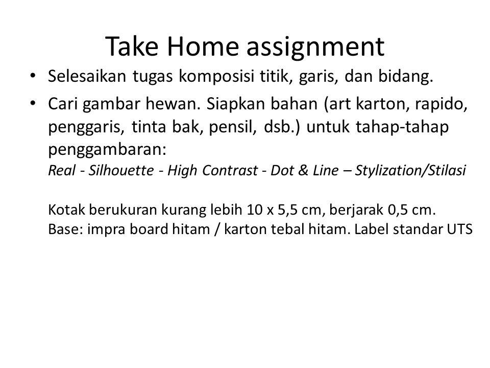 Take Home assignment Selesaikan tugas komposisi titik, garis, dan bidang.