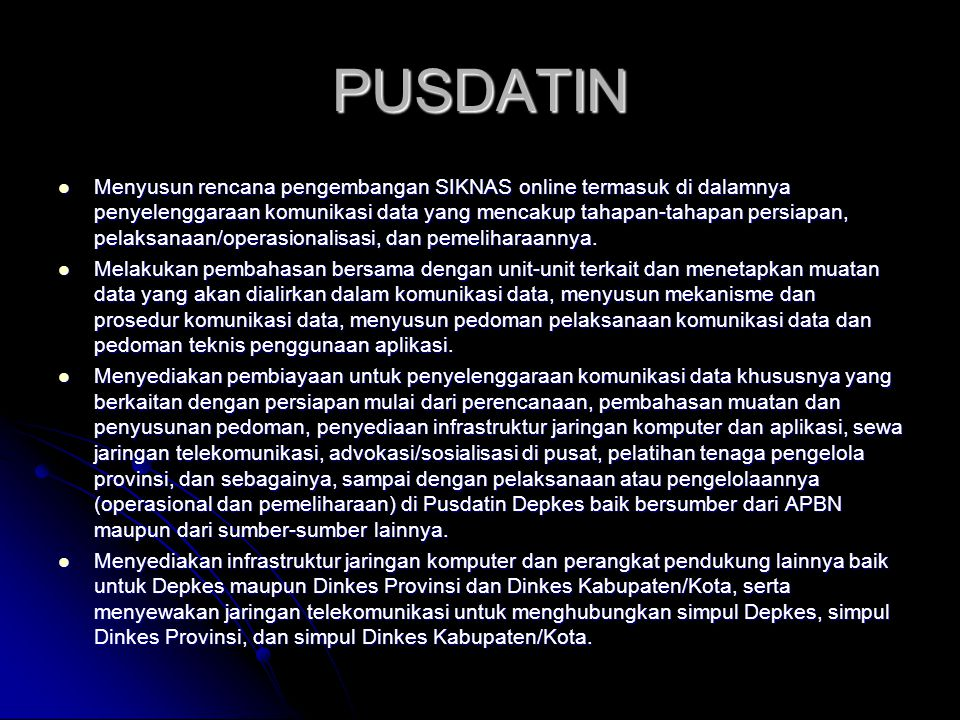 PUSDATIN