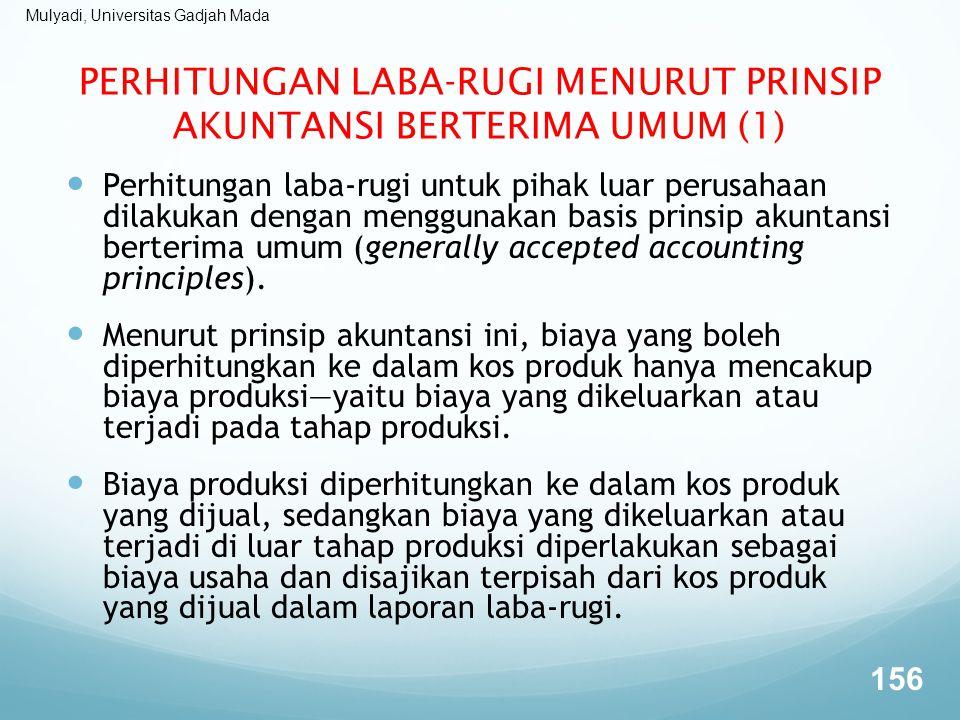 PERHITUNGAN LABA-RUGI MENURUT PRINSIP AKUNTANSI BERTERIMA UMUM (1)