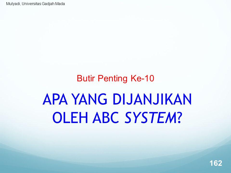 APA YANG DIJANJIKAN OLEH ABC SYSTEM