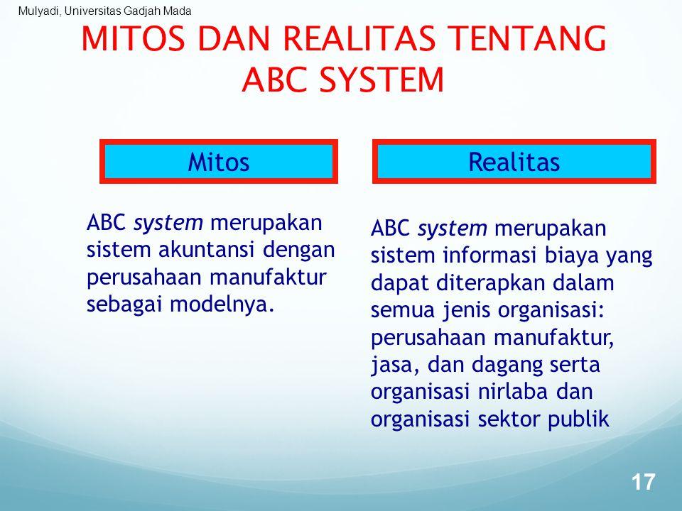 MITOS DAN REALITAS TENTANG ABC SYSTEM