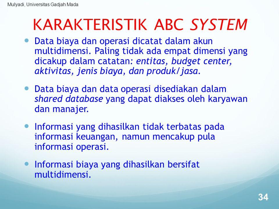 KARAKTERISTIK ABC SYSTEM